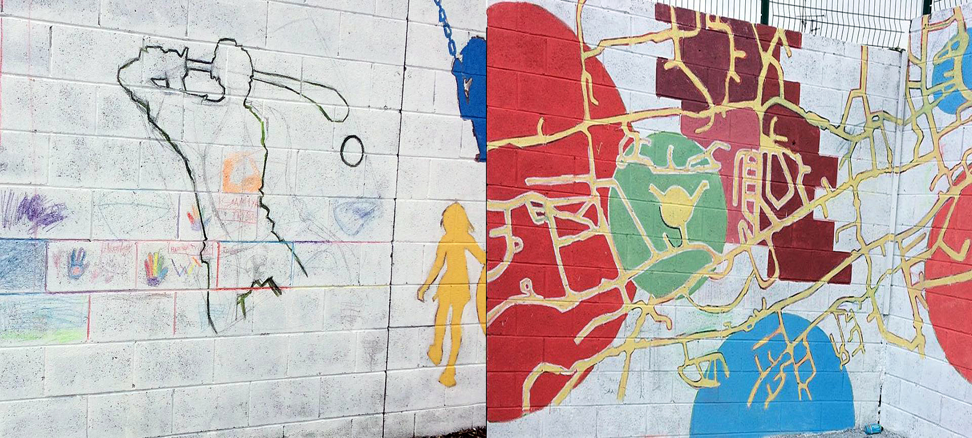 2019 Community project Mural Wexford Town image
